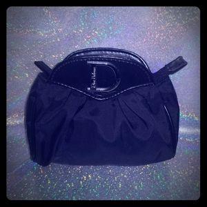 Dior Black Nylon Makeup/ Cosmetic Bag